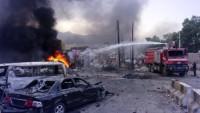 Aden'de patlama; ölü ve yaralı var