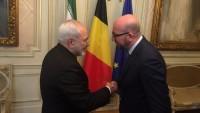 İran dışişleri bakanı Belçika başbakanı ile görüştü