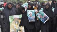 Nijerya'da Şeyh Zakzaki'ye Destek Gösterisi