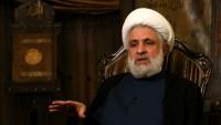 Şeyh Naim Kasım: Arabistan, Suriye'de yenilgiyi itiraf etti
