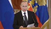 Putin: Rusya'da terörizme ciddi darbe indirildi