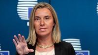 Mogherini, Doğu Kudüs'ün Filistin'in koparılamaz bir parçası olduğunu bildirdi