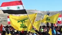 Suriye halkından Hizbullah'a destek