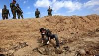 Kuzey Irak'ta toplu mezar bulundu
