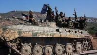 Dareyya Suriye ordusunun kontrolüne geçti