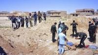 Irak'ta IŞİD'in kontrolünde 50'den fazla toplu mezar var