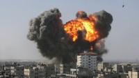 Teröristler, Halep'e havan topuyla saldırdı