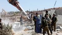 Siyonist İsrail, yılbaşından bu yana Filistinlilere ait yüzlerce evi yıktı