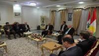 İran Kürdistan eyalet valisi, Irak Kürdistan bölge yönetimi içişleri ile görüştü