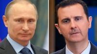 Putin'den Esad'a destek mesajı