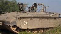 Siyonist İsrail ordusundan Gazze Şeridi'ne yönelik saldırı tehdidi
