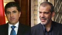 İran'ın Irak elçisi Neçirvan Barzani ile görüştü