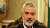 İsmail Haniye: Siyonist İsrail Filistinli komutanının teröründen sorumludur