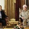 İran'ın Bağdat Büyükelçisi, Mesut Barzani ile görüştü