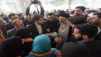 Yüzlerce yabancı ziyaretçi Meşhed'de İmam Rıza (as) türbesinde