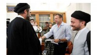 İtalyan genç Hz. İmam Rıza (as)ın hareminde İslam'ı kabul etti