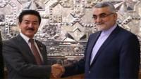 İran ve Japonya parlamentoları yetkilileri arasında görüşme