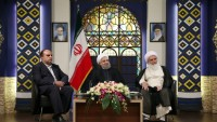 İslami İran Cumhurbaşkanı Hasan Ruhani, Kermanşah vilayetini ziyaret etti