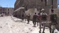 Halep Şehrinin Halidiye Bölgesi İşgalden Kurtarıldı