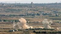 İsrail, Suriye'nin güneyini bombaladı