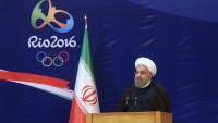 Hasan Ruhani olimpiyat ve paralimpik sporcu konvoyunu uğurladı