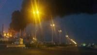 Mahşehr petro kimya tesislerinde patlama ve yangın