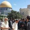 Siyonist yerleşimciler, Aksa'ya baskın düzenledi