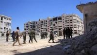 Suriye ordusunun Halep'te teröristlere karşı geniş çaplı operasyonu sürüyor