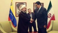 İran ve Venezuella Cumhurbaşkanları Karakas'ta Bir araya Geldi
