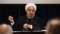 Hasan Ruhani: İran, ABD'nin engelleme çabalarıyla mücadele ediyor
