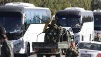 Teröristler, Humus'tan çekilmeye başladı