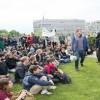 Berlin'de Suudi rejimi aleyhinde gösteri
