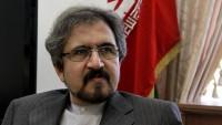 Kasımi: Kuveyt Dışişleri Bakanı Kuveyt Emiri'nin Ruhani'ye mesajını getirecektir