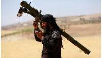 Suriye'de teröristler gelişmiş silahlarla donatıldı