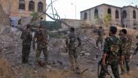 Suriye'de ordu birlikleri teröristlerin saldırılarını püskürttü