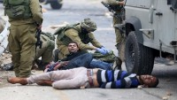 Siyonist İsrail Güçleri, Filistinlilere Saldırdı