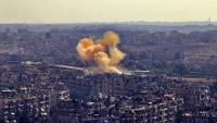 Suriye jetleri, teröristlerin mevzilerini bombaladı