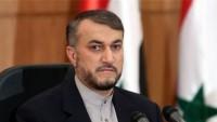 Emir Abdullahiyan: İran çok güçlü bir şekilde direnişin yanında durmaya devam edecek