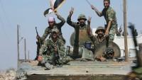 Suriye askerleri, IŞİD teröristleriyle mücadeleyi sürdürüyor