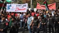 Ürdün'de Amerikan şirketinden gaz alınması protesto edildi