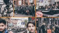 İngiltere'nin Manchester Kentinde Sembolik Erbain Yürüyüşü