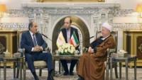 Kıbrıs meclis başkanı Ayetullah Rafsancani ve Şemhani ile görüştü