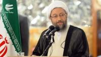 Ayetullah Laricani, nükleer anlaşmanın ihlaline tepki gösterdi