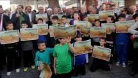 """Nablus'ta İsrail'in """"ezan yasağı"""" yasa tasarısına tepkiler"""