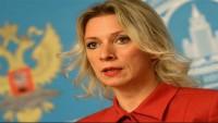 """Rusya dışişleri bakanlığı sözcüsü Zaharova: Amerika'nın Suriye'de bulunması, """"işgal"""" anlamındadır"""