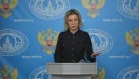 Zaharova: Şam'ın kimyasal silah kullandığına yönelik senaryolar 'Hollywood düzeyine' çıkabilir