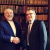 Zarif, İran ve Çek cumhuriyeti ilişkilerinin gelişmesini vurguladı