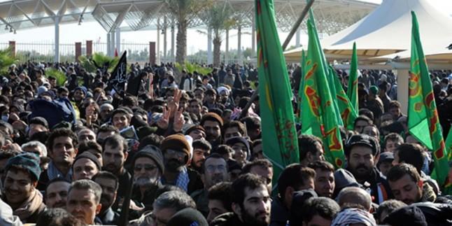 Yaklaşık bir milyon yabancı ziyaretçi, Erbain için Irak'ta