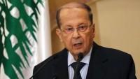 Lübnan cumhurbaşkanından İsrail'le ilgili çağrı