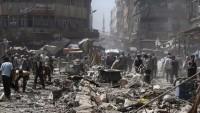 Terör örgütleri tekrar Şam'ın batısında yerleşim bölgelerini hedef aldı